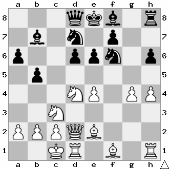 Unbelievably, it´s the g pawn that black takes.